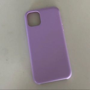 Insignia purple iPhone 11 case